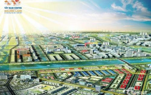 Mở bán Dự án Tây Nam Center Golden Land Giá chỉ từ 7tr/1m2 tại trung tâm hành chính huyện Thủ Thừa