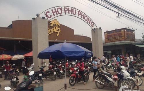 Bán đất ngay chợ Phú Phong, Bình Chuẩn, sổ hồng riềng, giá đầu tư, mặt tiền 32m