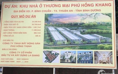 Bán đất nền dự án Phú Hồng Khang Bình Chuẩn | SHR |Thổ Cư 100%