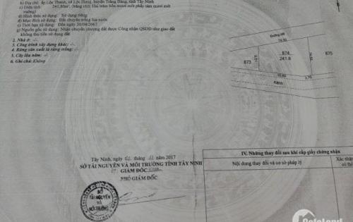 Tài Chính 400 triệu Sở Hữu Đất + Nhà Tại Lộc Hưng – Trảng Bàng