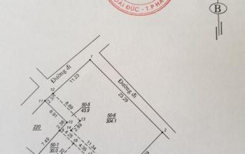 Bán lô đất giá 900tr gần ngã tư Nhổn, Tu Hoàng, phường Phương Canh