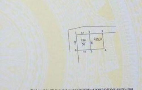 Cần bán lô đất trong Đình Thôn diện tích 50m2 ( 2 mặt tiền) 75tr/m2