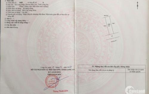 Bán gấp Dãy trọ 10 phòng, ngay KCN Thuận Đạo, Thị Trấn Bến Lức. Dt 100m2, shr, thu nhập 12tr/thg