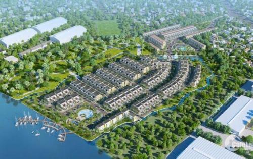 Trần Anh Riverside - biệt thự Singapore bên sông Vàm Cỏ. TT 30% nhận nhà, 70% trả chậm 0% lãi suất