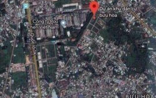 Lô đất ngay KDC Bửu Hòa cách cầu mới Hóa An chỉ 500m nhận lộc vàng nóng