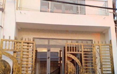 Nhà mới xây 1 trệt 1 lầu 100m2, trục chính khu dân cư 7-13, quận Bình Thủy