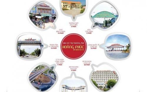 CƠ HỘI VÀNG! Dự án HOÀNG PHÚC đã quay trở lại mở BÁN GIAI ĐOẠN 2 - Mặt tiền Tỉnh lộ 835 cách QL.1A 2km