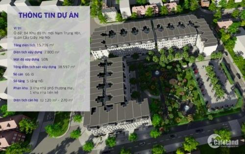 bán nhà liền kề Nam Trung Yên - Cầu Giấy