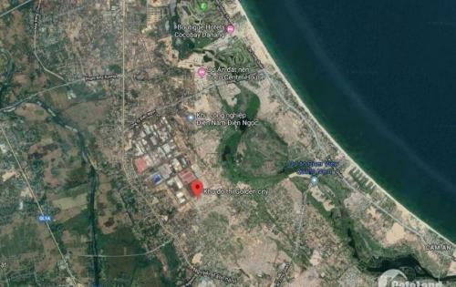 HOT !!! Đất trục đường 33m Khu Đô thị Golden City Điện Bàn - Quảng Nam 100 m2 chỉ 8.5 triệu/m2...!!!