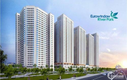 Mở bán chung cư EuroWindows Đông Anh giá chỉ 14 triệu/m2, 2 ngủ, 2 vệ sinh