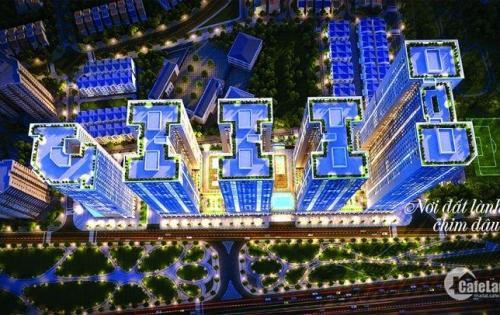 Bán căn hộ cao cấp Eurowindow River Park 02 PN view sông Hồng, giá chỉ 1,2 tỷ đồng