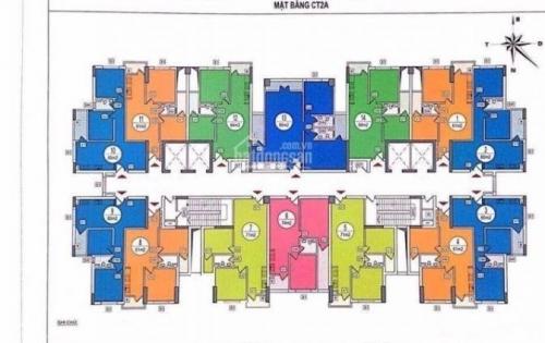 Cấn bán căn số 10 diện tích 95,87m tòa CT3 chung cư tái định cư Hoàng Cầu, Đống Đa