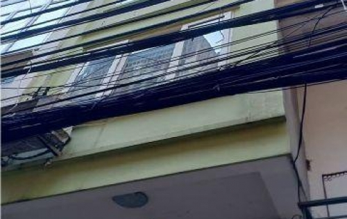 Nhà bán 40m2 5 tầng mt 3,3m Đê La Thành (nhỏ) Đống Đa Hà Nội giá 5.2 tỷ