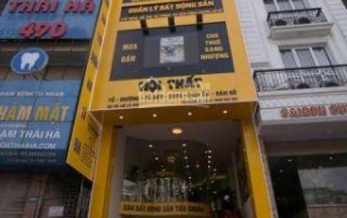 Bán nhà mặt phố Phạm Ngọc Thạch, 80m2, 6 tầng, mặt tiền 6.7m