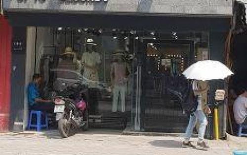 Cho thuê cửa hàng mặt phố Phạm Ngọc Thạch 120m2, mặt tiền 6m, giá thuê 75tr/tháng