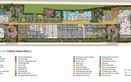 Khẳng định đẳng cấp khi mua CH Seasons Avenue, Hà Đông, 3N, 2VS, dt 100m2, View bể bơi