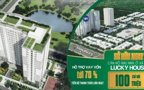 Nhà ở xã hội Lucky House Kiến Hưng, Hà Đông, giá 13 triệu/m2. Liên hê 0913.193.891