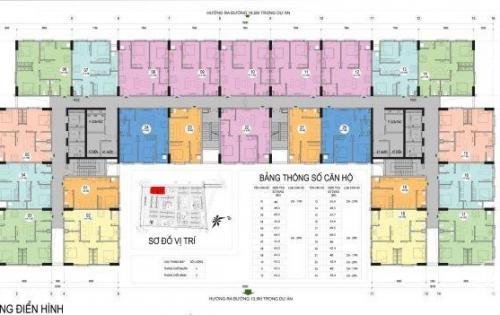 Nhà ở xã hội Kiến Hưng, Hà Đông, giá 13,65 triệu/m2 thông thủy