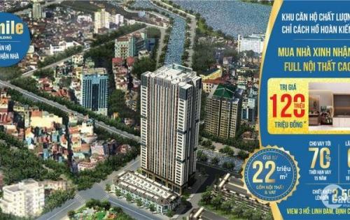 Chính chủ cần bán căn hộ chung cư Smile Building số 1 Nguyễn Cảnh Dị, Hoàng Mai, Hà Nội