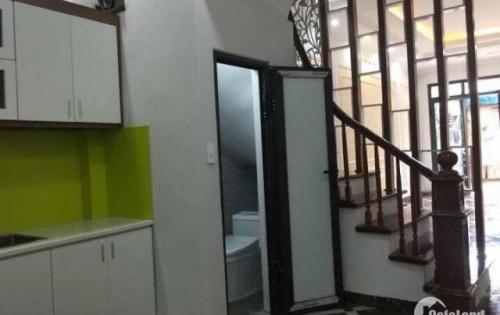 Bán Nhà Tây Linh đàm – Hoàng Mai – Hà Nội  dt 38mx5T giá 2.5 ty. Oto cạnh nhà.