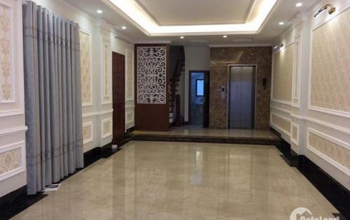 Nhà 6 tầng thang máy, Gara, Kinh doanh phố Hoàng Mai 52m, 6,5 tỷ.