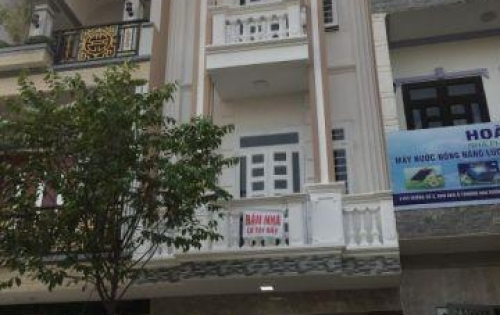 Nhà 1 trệt 2 lầu mới xây ngay trung tâm Huyện Bình Chánh-shr-0904 646 772