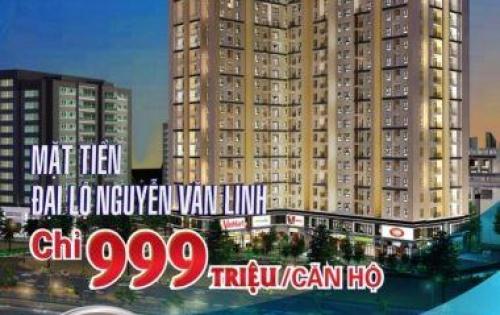 Căn hộ mặt tiền Nguyễn Văn Linh dưới 1 tỷ liền kề Phú Mỹ Hưng số hồng lâu dài