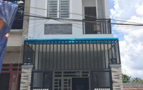 Chính chủ bán nhà cách chợ Bình Chánh 1Km, 4x22m, đúc 1 lầu, CQH 2018
