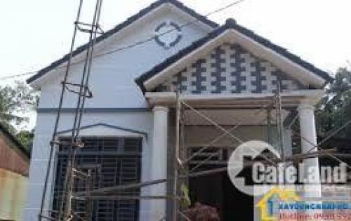 Bán lỗ căn nhà 1 trệt có tầng lửng,6x15, chợ Củ Chi có SHR, giá 840tr . lh:0901493956