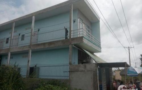 Bán dãy trọ 120m2 gồm 1 kiot 9 phòng thị trấn Củ Chi, giá 1.1 tỷ sổ hồng, đường 14m, ngay KCN TBCC