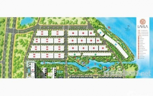 Cần bán nhà phố dự án Lavila Kiến Á đường Nguyễn Hữu Thọ, Nhà Bè. LH: 0949190072