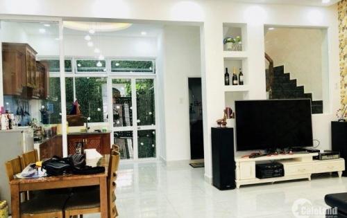 Nhà mặt tiền hẻm đường Huỳnh Tấn Phát, Nhà Bè, trệt lầu 2PN, nhà mới, vào ở ngay, DT 126m2 giá 3,7 tỷ