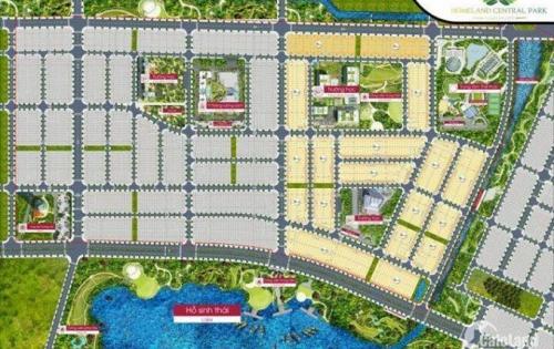 Đất nền dự án HomeLand Central Park Đà Nẵng HOT nhất hiện nay 14tr/m2