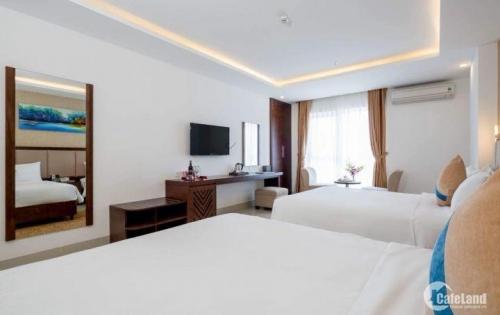 Bán khách mặt tiền đường An Thượng 29 . Khách sạn mới xây trong năm , 11 tầng , 40 phòng , có tầng hầm , nhà hàng , caffe . Diện tích 162m2 , mặt tiền 9m