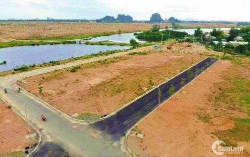 Bán đất có sổ: Giáp sông, view công viên trung tâm nằm trên trục đường chính Võ Chí Công - Minh Mạng.