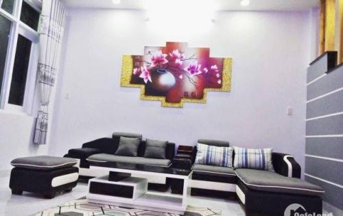 Bán nhà đẹp mới xây tặng nội thất sang trọng xã Vĩnh Thạnh