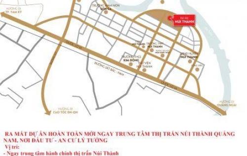 Đất dự án mới ngay trung tâm hành chính Núi Thành