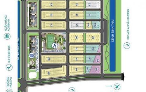 Bán Nhà 2 tầng dự án Hue Green City giai đoạn 3
