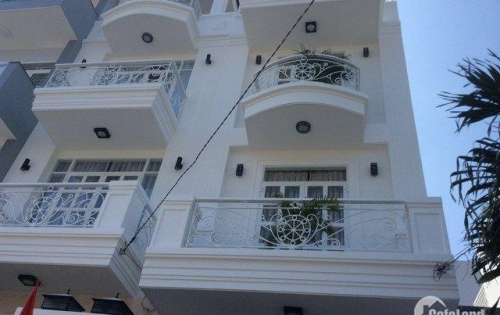 Cần bán gấp nhà mặt tiền đường Cống Quỳnh, P Nguyễn Cư Trinh, Q1. DT: 4m x 12m. trệt 3 lầu