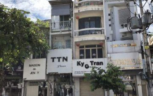 Giá rẻ chỉ 33 tỷ,nhà Mặt tiền Trần Hưng Đạo, P Cầu Kho, Quận 1;4 x18,3 lầu.