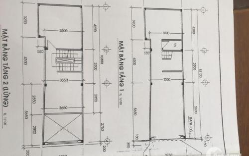 Bán 2 lô đất  4x14m, hẻm 93 Lạc Long Quân, P.1,  Q.11 giá 4.35 tỷ