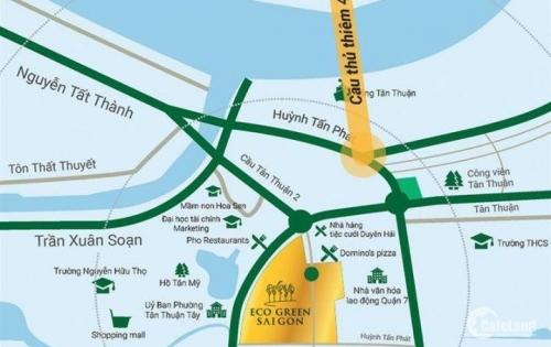 Bán căn hộ Eco-Green phân khúc CHCC khu vực Q7 mặt tiền đại lộ Nguyễn Văn Linh lh:0904269926
