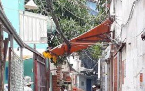 Bán nhà nát hẻm đường Gò Ô Môi phường Phú Thuận Quận 7