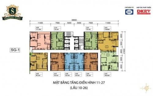 Bán căn hộ Southgate giá gốc từ Chủ đầu tư, thanh toán theo tiến độ. LH: 0909160018