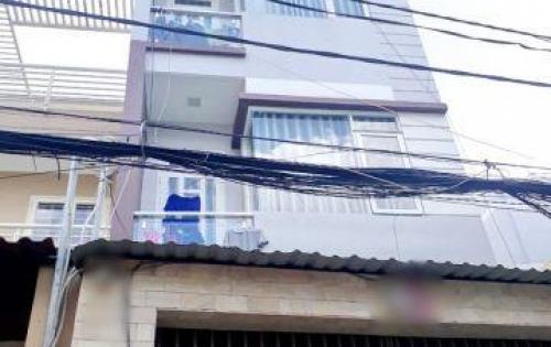 Bán nhà 4 lầu mặt tiền hẻm 6m 101 đường Nguyễn Thị Tần Phường 1 Quận 8
