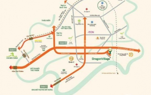 Sang nhượng suất nội bộ DA Dragon Village Phú Hữu Q9 - 6X15m giá 3.9 tỷ, TT tiến độ