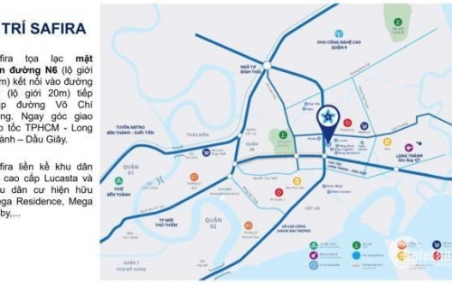 Chính thức nhận giữ chỗ dự án SAFIRA Khang Điền, mở bán đợt đầu nhiều ưu đãi 091673336