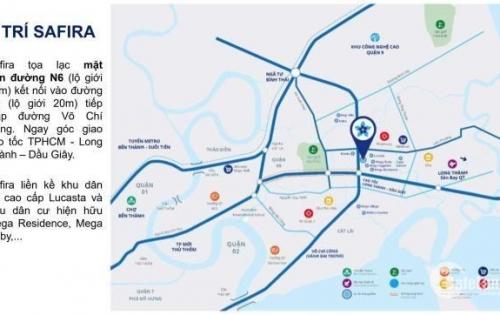 Căn hộ Sapfira Khang Điền liền kề TT tài chính quận 2, mở bán đợt đầu chỉ 25 triệu/m2 0916673336