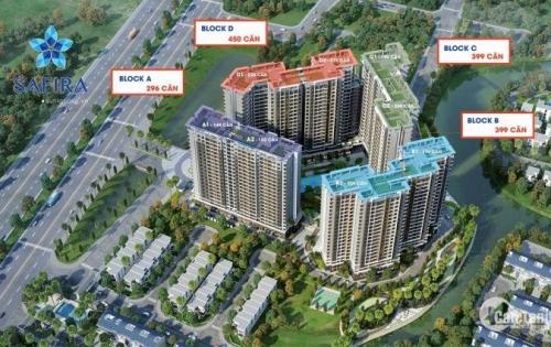 Nhận giữ chỗ ưu tiên căn hộ Safira Khang Điền, giá hấp dẫn