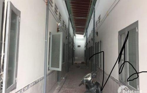 Bán dãy trọ 16 phòng, nằm ngay KCN Tân Tạo, đã thuê full phòng, SHR